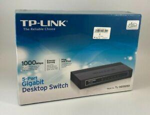 TP-LINK 5 PORT GIGABIT SWITCH TL-SG1005D BNIB SEALED - (CFM#467/GA0351)