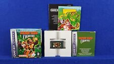 Gameboy Advance DONKEY KONG COUNTRY Boxed & Complete GBA PAL UK