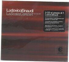 LUDOVICO EINAUDI LA SCALA: CONCERT 03.03.03 (1° STAMPA 2003) 2 CD F.C. SIGILLATO