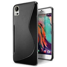 Handy Hülle HTC Desire 10 Lifestyle Silikon Case Slim Cover Schutzhülle Tasche