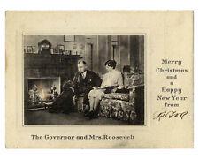 Eleanor Roosevelt Signed Franklin FDR Christmas Card