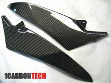 09-2014 YAMAHA YZF R1 CARBON FIBER LOWER TANK PANELS