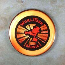 """Classic Jukebox Speaker No.2  Fridge Magnet 2 1/4""""  Wurlitzer 4004 Diner Arcade"""