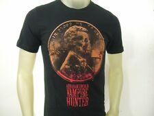 Mens M President Abraham Lincoln Vampire Hunter Skull Face Penny Blood Ax Shirt