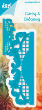 JOY CRAFTS Die Cutting & Embossing Stencil EDGE 6002/0291