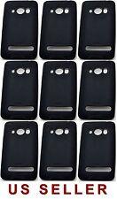 9 NEW Genuine HTC EVO 4G 4 SmartPhone Gel Skins Case BLACK Cover CZH1980R resale