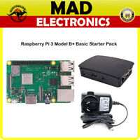 Raspberry Pi 3 Model B+ Basic Starter Pack Kit | 1.4GHZ Dual Band Wireless AC1