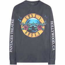 Guns'N'Roses 'Live in Hollywood, 1991' Vintage Style Long Sleeve T-Shirt