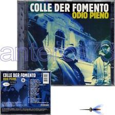 """COLLE DER FOMENTO """"ODIO PIENO"""" RARO CD RAP HIP HOP 1a STAMPA 1996 MANDIBOLA"""