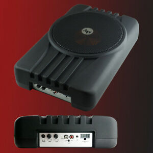 Audiopipe APLP-1001 10'' Compact Amplified Under Seat Subwoofer 300watts Power
