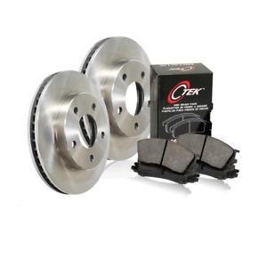 Centric Front Brake Rotors & Metallic Brake Pads 3PCS For Chevrolet C6500 Kodiak