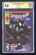 CGC 9.8 SS Clayton Crain Spider-Man #1 McFarlane Facsimile Black Suit NYCC Venom