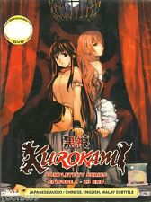 Kurokami / Black God Ep 1-23 End DVD English Subtitle Anime ALL Region Box Set