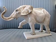 Rosenthal Germany 1935 ELEPHANT Figurine 584 by WILLI MUNCH-KHE at Bahnhof-Selb