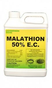 Southern Ag Malathion 50% E.C. 32 oz Insecticide Citrus, Fruits Vegetables Trees