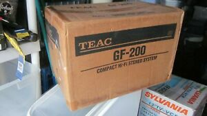 TEAC MODEL GF-200 compact HiFi Sterio system /in never opened factory box