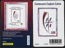 2020 Italia Tessera Cagliari Calcio Unif n.