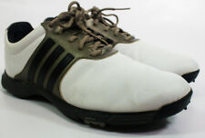 Adidas Tour White Leather Golf Shoes Size 10 1/5