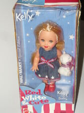 Barbie Kelly Red White & Cute Doll
