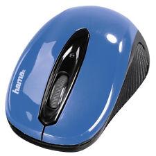 """Hama 86566 - optische Funkmaus """"am-7300"""" Schwarz/himmelblau"""