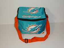 NFL Team Lunch Bag  Box Insulated Miami Dolphin New Sealed