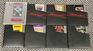 NES Game Lot Final Fantasy, Castlevania, Zelda, Pirates, Werewolf, Crystalis…