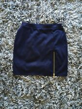 New Blue Mini Skirt In Size Small