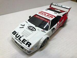 1:18Minichamps BMW M1 ProCar Buler White Race Car