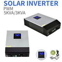 5000VA/3000VA PWM Pure Sine Wave Solar Inverter Aluminum Body Off-Grid Hybrid
