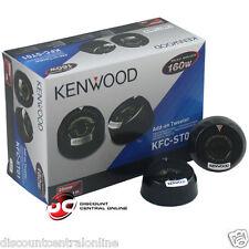 "KENWOOD KFC-ST01 1"" 1-INCH 4-OHM CAR AUDIO DOME TWEETERS (PAIR)"