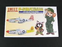 Suite 1/144 P-51B / C 15th Air Force Mustang plastic model kit two aircraft cont