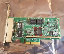 Quad Port GbE GE Gigabit Ethernet PCI-E 2.0 x4 Dell HY7RM BroadCom BCM95719