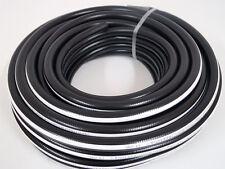 Druckluftschlauch 6 mm x 2,5 mm 20m schwarz flexibel Luftschlauch Gewebeschlauch