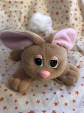 Vintage 1996 Mini Pound Bunnies Plush Rabbit by Lewis Galoob Brown