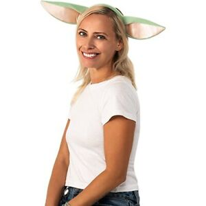 Star Wars The Mandalorian Grogu The Child Headband Ears Baby Yoda Mando Disney+