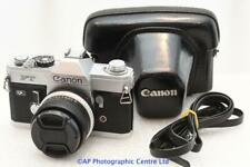 Canon FT QL 35mm SLR Camera c/w Hoya 28mm Lens NEW LIGHT SEALS