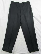 Vtg 50s 60s Wool Hollywood Waist Patterned Dress Pants Slacks Measure 34x30.5