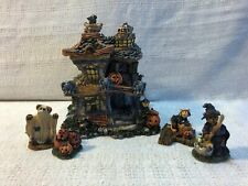 Boyds Bearly Built Villages Punky Boobears Haunted Halloween House 19012 19512-1