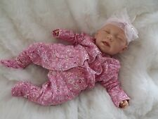 Mary Reborn Girl Doll REAL realistici motled neonato finti Baby Bambino Compleanno Natale