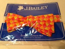 Bailey Boys J. Bailey Bow Tie Bright Colors Geometrical for Toddlers