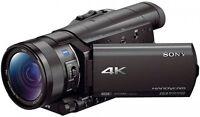 Sony FDR-AX100E 4K Ultra-HD-Camcorder HÄNDLER