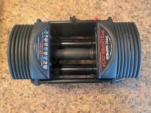 PowerBlock Pro 50 Dumbbell (single) Adjustable Weight 5-50lbs