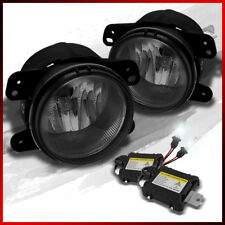 Fits 300/Magnum/Pt Cruiser/Wrangler/Journey Smoke Fog Lights +4K Xenon HID Slim