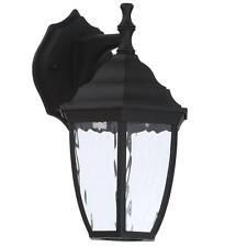 New listing Hampton Bay Black Outdoor Led Wall Lantern 901