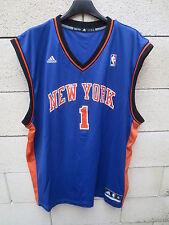 Maillot basket Amar'e STOUDEMIRE n°1 NBA Shirt KNICKS NEW YORK Adidas jersey XL