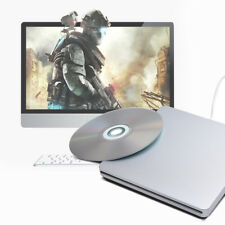 USB2.0 External CD-RW DVD Drive Writer Burner DVD Player for MacBook Mac iMac UK