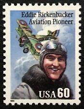 1995 Scott #2998 60¢ - EDDIE RICKENBACHER - PILOT  - Single Stamp - Mint NH