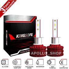 MINI H1 LED Headlight Bulbs Conversion Kit 200W 48000LM 6000K Hi/Lo Beam Lights