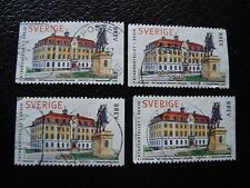 SUEDE - timbre yvert et tellier n° 2025 x4 obl (A29) stamp sweden (R)