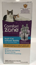 Comfort Zone Multi-Cat Diffuser Refills For Cats & Kittens - 3-1.62 Oz.